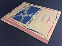 Livre :La terre, les continents; l'union française, cours de géographie Clozier