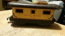 VINTAGE MARX TIN LITHO UNION PACIFIC CABOOSE 3824 (B160) AS-IS