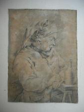 Dessin ancien du XVIII°.Daté 1764 et signé.