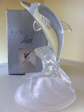 New Cristal d'Arques France Genuine Lead Crystal Collectible Dolphin Figurine