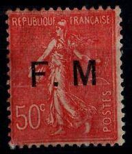 Variété de la SEMEUSE 50c F.M., Neuf * = Cote 40 € / Lot Timbre France F.M.6a