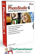 ArcSoft PhotoStudio 6 Photo Studio Full Retail Genuine Guarantee