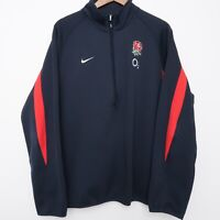 Arsenal Premier League Soccer Pullover Nike X-LARGE XL Therma Fit 1/4 Zip Top