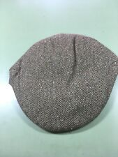 Mens Irish Donegal Tweed Cap (Sze 7 3 8
