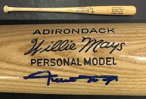 Willie Mays NY Giants Signed Adirondack Pro Model Bat Mint Autograph PSA/DNA COA
