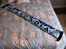MLS Portland Timbers Army Sounders Whitecaps Cascadia Cup Supporters Scarf - NEW