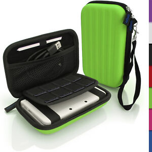 Green Hard Case Cover for New Nintendo 3DS XL 3DSXL 2DS XL 2DSXL Sleeve Pouch