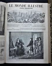 LE MONDE ILLUSTRE,FASCICOLO 128 - 24 SEPTE.1859 8 FOGLI,XILO.RISORGIMENTO.ITALIA
