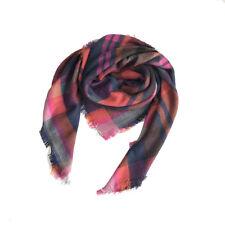 Lady New Rose Red Blanket Tartan Scarf Wrap Shawls Women Plaids Cozy Pashmina
