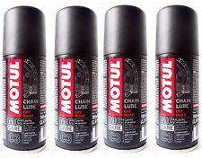 4 x 100 ML Grasa Spray para Cadena moto Motul C3 cadena Lube De Carretera e Quad