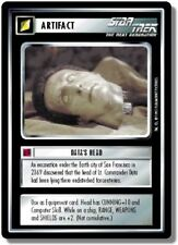 Star Trek CCG AU Alternate Universe Data's Head