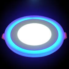 9W LED Ceiling Panel Light Dual Colour White Blue Recessed Downlight Spot Lamp