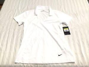 womens nike dri-fir golf shirt Size Small