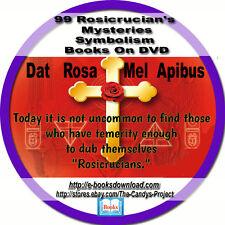 Rosicrucian Mysteries Symbolism 220 Mysteries Symbols Rose Cross Books DVD