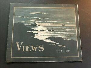 1905 Seaside Oregon Clatsop Beach Viewbook Souvenir