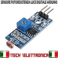 Sensore Luce fotosensibile fotoresistenza LDR Digitale Arduino