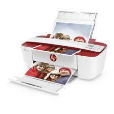 Impresora multifunción HP Deskjet 3730 Wifi roja Usada *no incluye cartuchos*