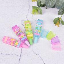 Creative Bullet Eraser Students Eraser With Cover School Supplies Color RandoWd