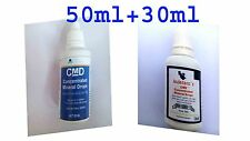 CMD NATURAL CONCENTRATED MINERAL DROPS  1 PIECE 50ML+ 1 PIECE 30ML.  TOTAL 80 ML