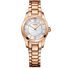 Hugo Boss 1502378 Women's PVD Rose Mother of Pearl Watch Grade A
