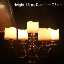 LED Remote Control Flameless Wax Flickering light Mood Candle Height 15cm ˇQ