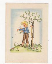 Children Art Postcard 1943 Germany 452a