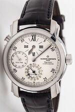 $30,000 VACHERON CONSTANTIN Mens Regulateur 18k WHITE Gold 39MM Watch BOX PP