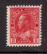 CANADA 1922 FINE MINT #106, KING GEORGE V ADMIRAL ISSUE !!  A97