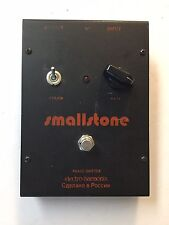 Electro Harmonix Small Stone Phase Shifter Russian V3 Rare Vintage Guitar Pedal