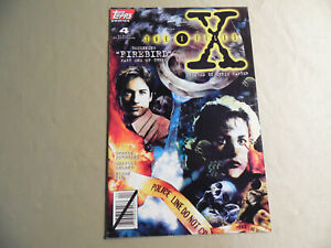 X-Files #4 (Topps 1995) Free Domestic Shipping