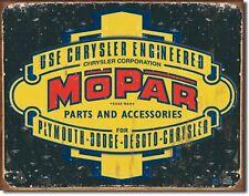 Mopar Parts & Accessories Dodge Cars Metal Sign Tin New Vintage Style USA #1314