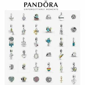 Genuine Pandora Dangle Disney Daisy Charm S925 ALE Sterling Silver Gift Pouch
