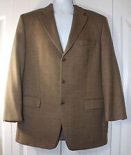 MICHAEL Michael Kors Men's 40R 100% Wool Laine 3 Button Sport Coat