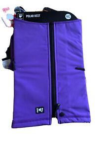 Hurtta Polar Visibility Dog Vest, Lupine, XXL