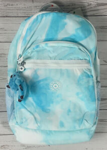 KIPLING SEOUL XL GO Laptop Backpack Beach Tie Dye BTS
