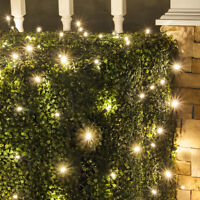 LED Net Lights Soft Twinkle Pulsing Outdoor Christmas Home Party Decoration