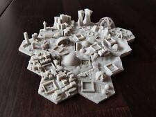 16 Stück Städte für Terraforming Mars, Hexagon Fließen Zubehörteile