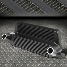 FOR 15-19 FORD MUSTANG 2.3L ECOBOOST STEPPED BAR&PLATE FRONT MOUNT INTERCOOLER