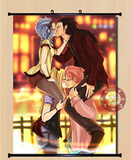 Anime Fairy Tail Gajeel/Levy/lucy Home Decor Poster Wall Scroll 40*55cm#11-5-H8