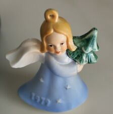 "1979 Goebel Porcelain Angel 2nd Edition W. Germany 4"" Tall Christmas Ornament"