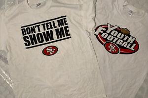 Vintage NFL Draft San Francisco 49ers Dont Tell Me Show Me Singletary New XL VTG