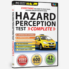 HAZARD PERCEPTION TEST COMPLETE DVD ROM BNIB 2017 / 18 FOR CAR BIKE LGV PCV ADI