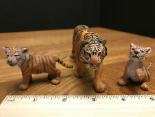 *SHIPS FREE* SCHLEICH * BENGAL TIGERS - FAMILY *  Mother TIGER & TWO CUBS WHELPS