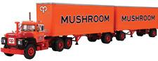 1ST FIRST GEAR 60-0286 MACK R 'MUSHROOM TRANSPORTATION' +PUP TRAILERS *NEW* (OS)