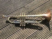 Taylor Piranha Bb Trumpet - Stunning- New Unused Item Scratched Lacquer Finish -