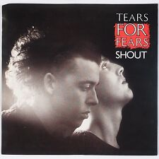 TEARS FOR FEARS: Shout USA MERCURY Orig 45 w/ PS Pop Classic NM-