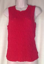 WOMEN KENNETH COLE TOP RED SIZE S