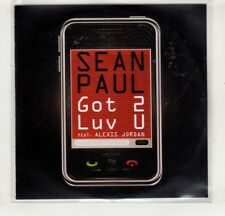 (HM542) Sean Paul, Got 2 Luv U ft Alexis Jordan - 2011 DJ CD