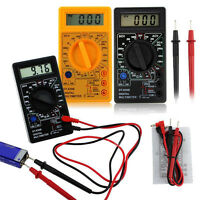 Digital LCD Multimeter Voltmeter Ammeter AC DC OHM Current Circuit Tester Meter