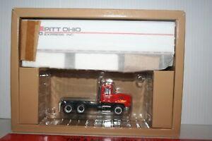PEM 1:64 Mack CH600 Semi Tractor & Trailer Diecast Truck Pitt Ohio M71508